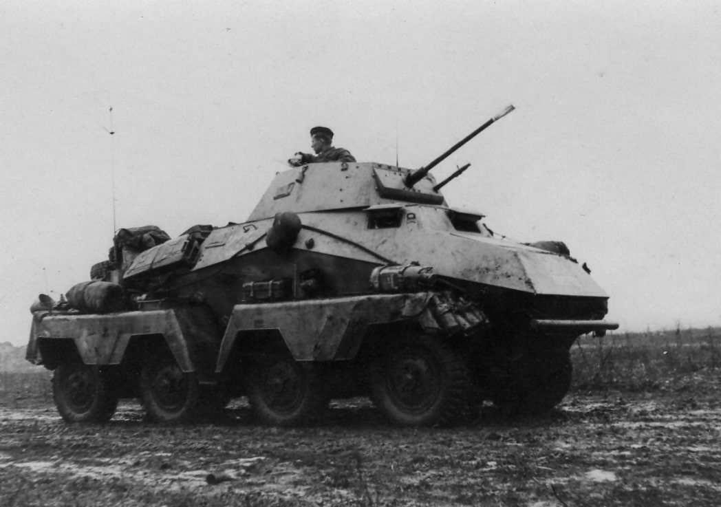 Schwerer Panzerspahwagen SdKfz 231 8 rad