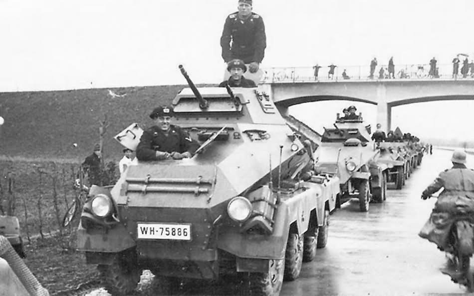 SdKfz 231 8 Rad Armored Car