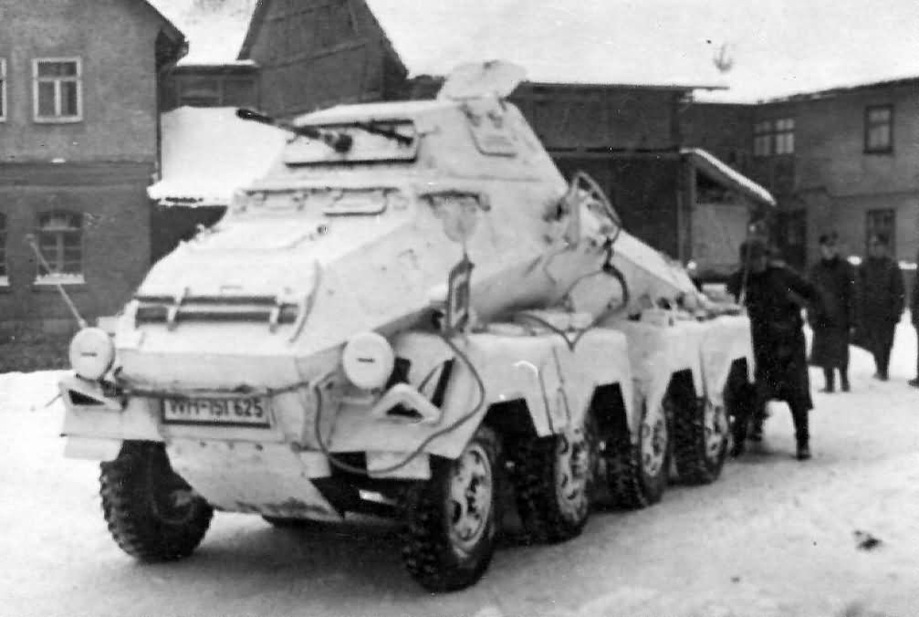SdKfz 231 8-Rad winter camo 1942