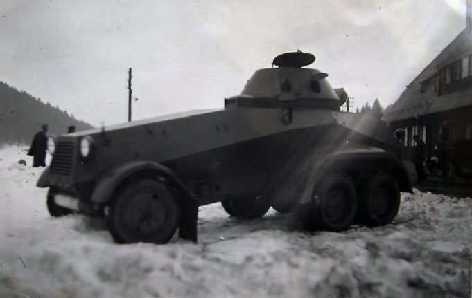SdKfz 231 police version