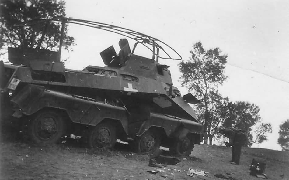 SdKfz 232 1939 radio vehicle