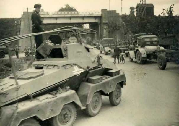 SdKfz 232 Funkwagen