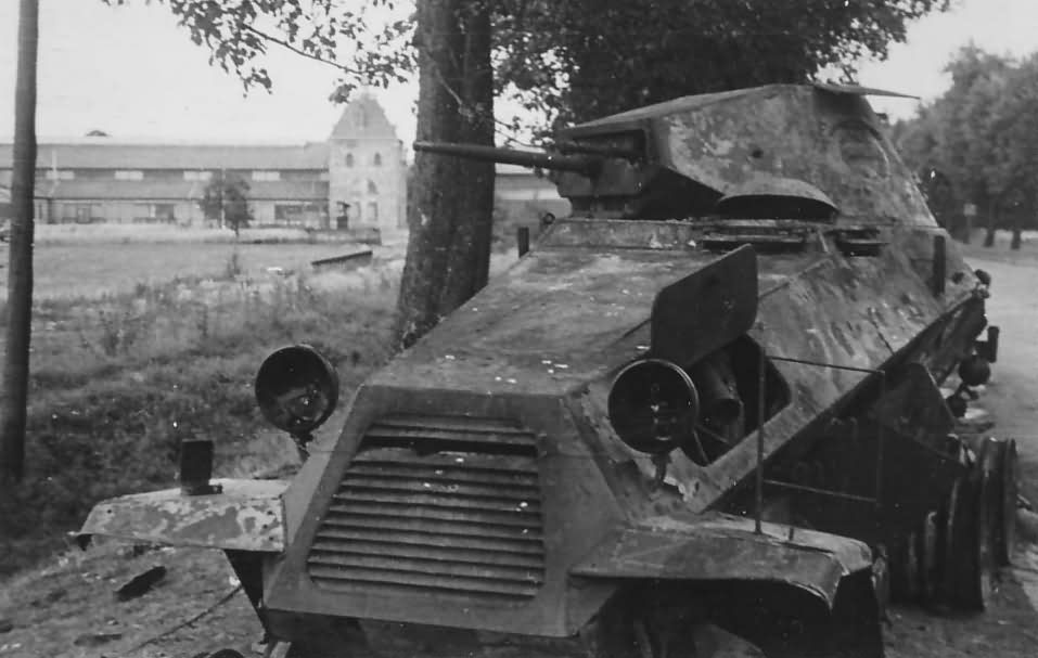 Sdkfz 231 6rad car