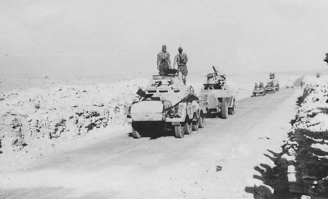 Sdkfz 231 8 rad Afrika korps DAK