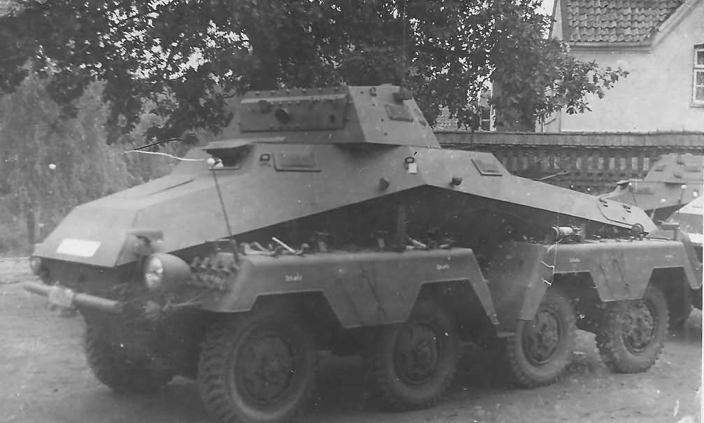 Sdkfz 231 armoured car