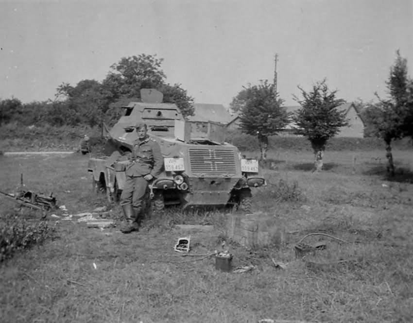 Sdkfz 231 heavy armored reconnaissance vehicle
