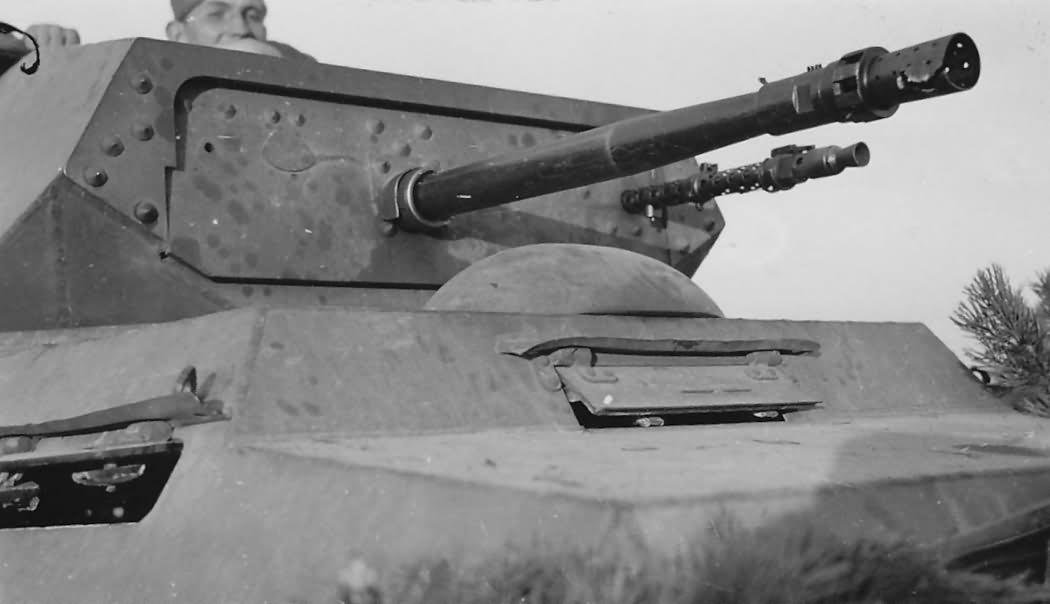 Details of the turret of SdKfz 231