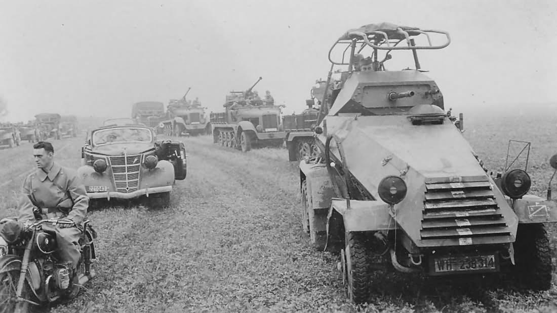 Sdkfz 232 6 rad Poland 1939