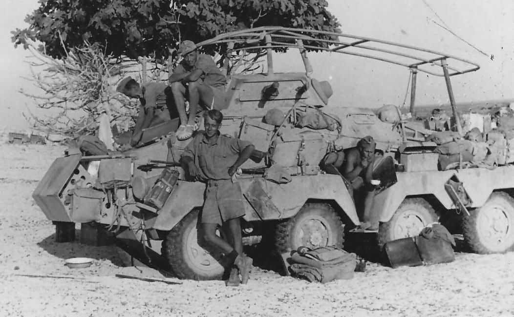 Sdkfz 232 Afrika korps DAK