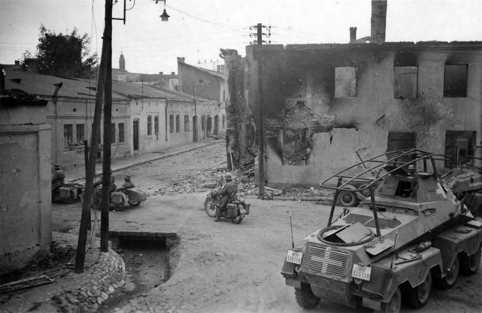Sd.Kfz 232 Przemysl Poland 1939