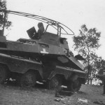 SdKfz 232 1939 radio vehicle