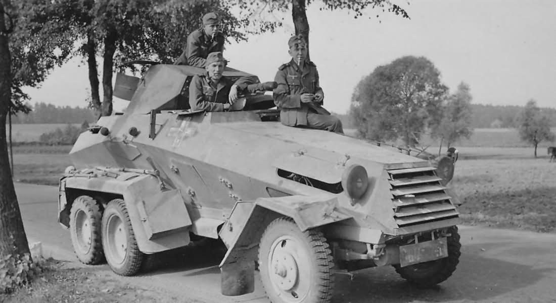 armored car Sdkfz 231 6 rad Poland 1939