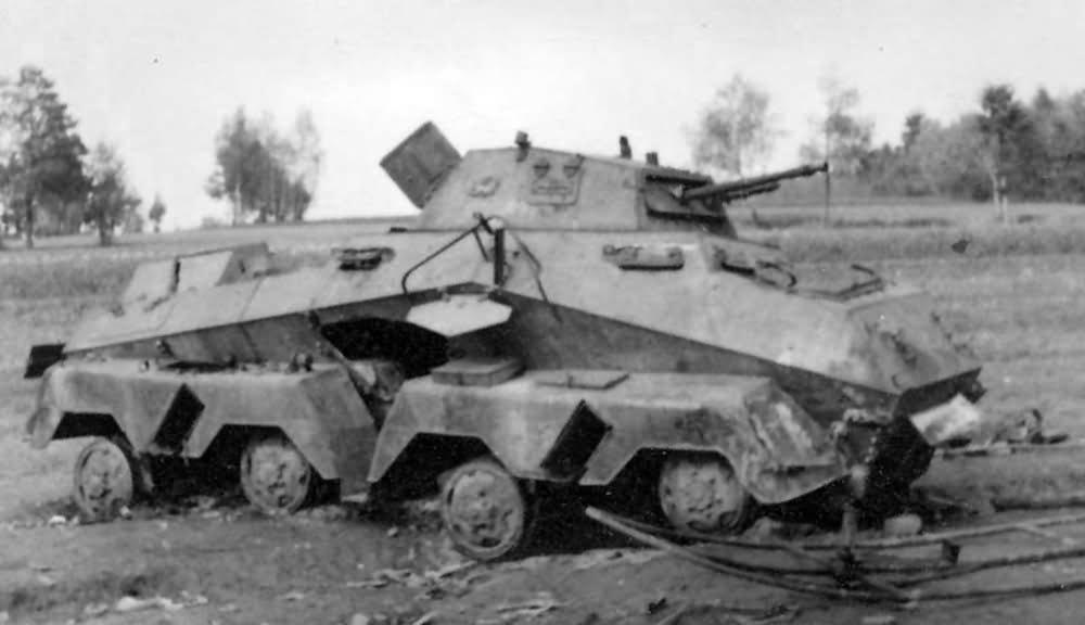 destroyed Sdkfz 231 8rad