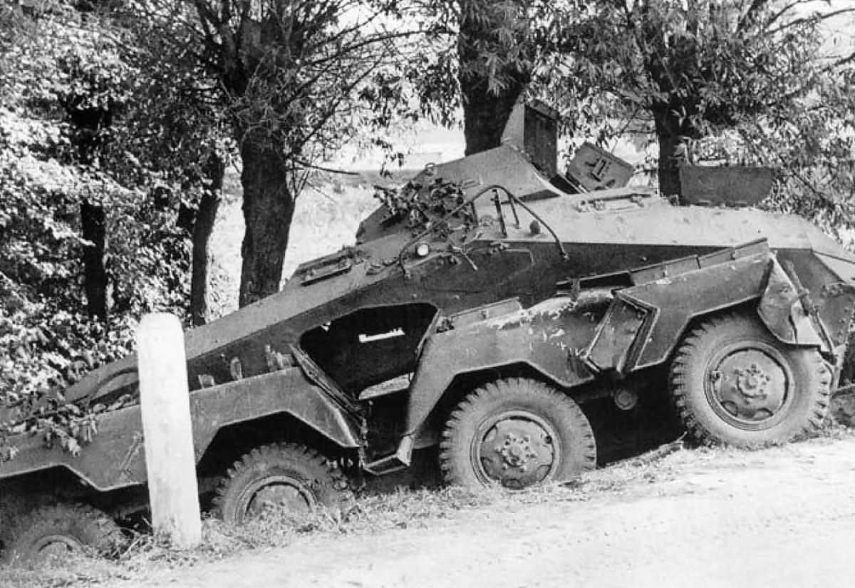 destroyed sdkfz 231