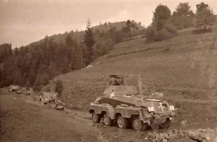 panzerspahwagen sdkfz 231 Poland