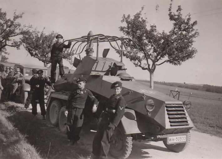 sdkfz 231 6 rad schwerer panzerspahwagen