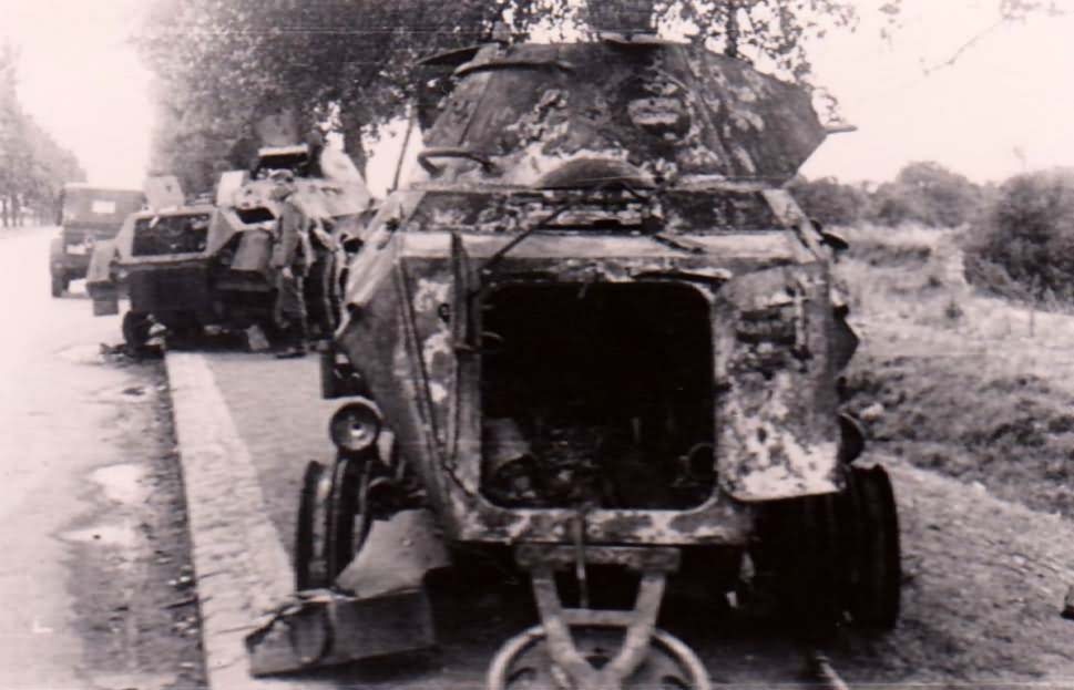 sdkfz 231 6rad destroyed