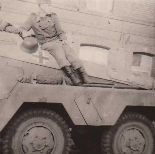 sdkfz 231 armored vehicle