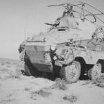 SdKfz 263 Funk Panzerspahwagen Afrikakorps DAK Afrika