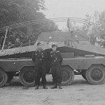 Sd Kfz 263 and crew