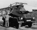 Sdkfz 263 8 rad front view