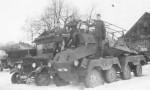 Sdkfz 263 8 rad in winter