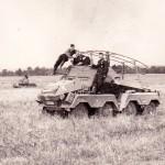 Panzerfunkwagen Sd. Kfz. 263 (8-rad) of the Panzer Group Kleist