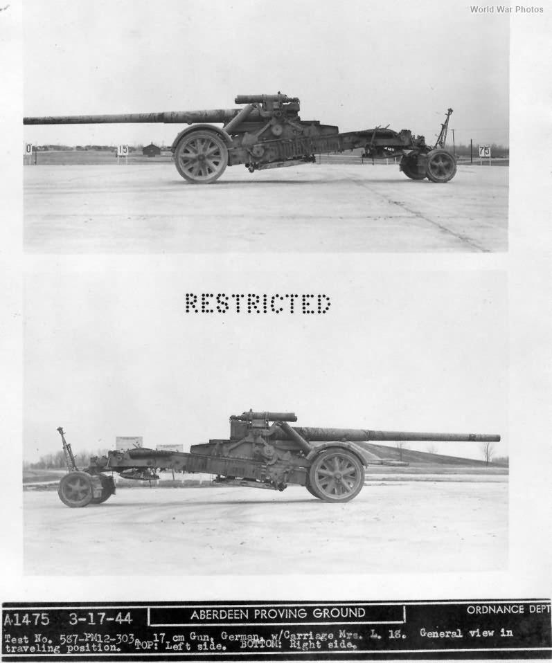 17 cm Kanone 18 in Morserlafette 3