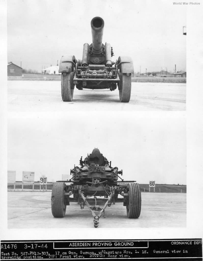 17 cm Kanone 18 in Morserlafette 6