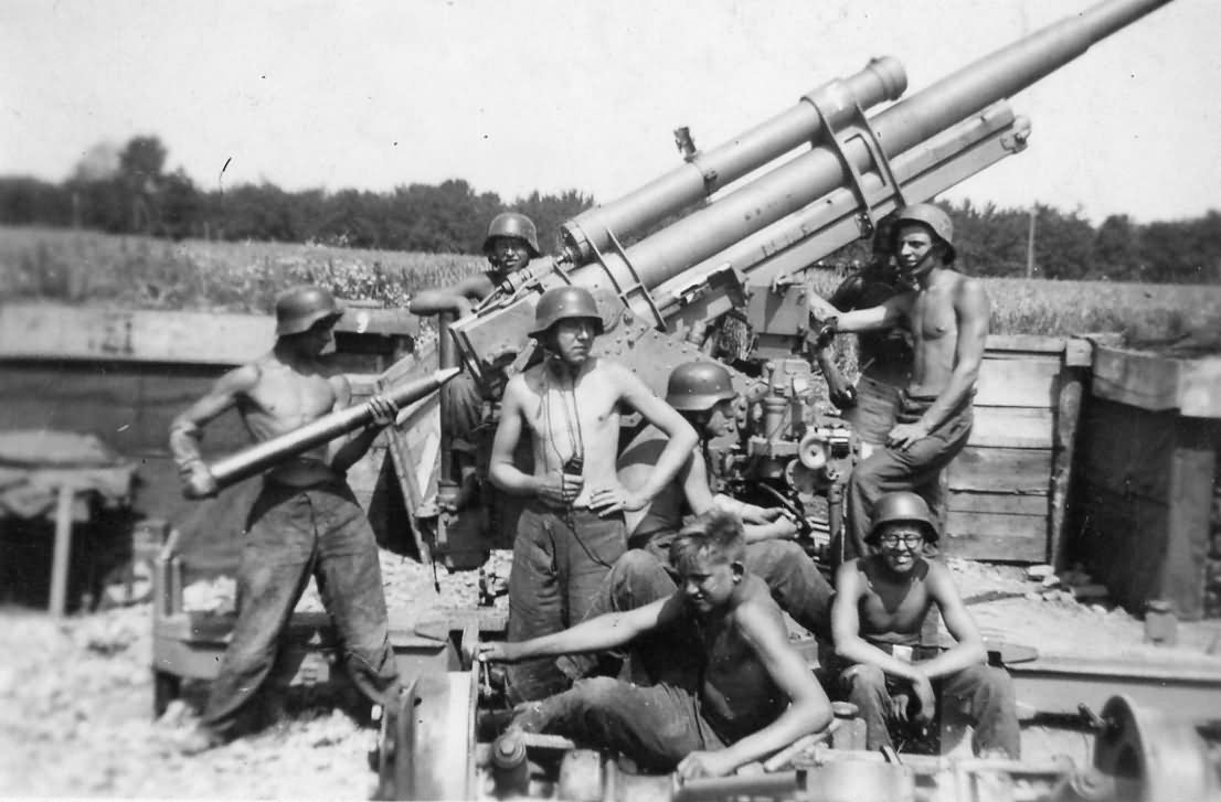 Image result for german 88 gun
