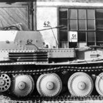 Flakpanzer 38(t) right side view