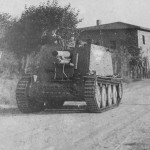 Grille Ausf. H German self propelled artillery