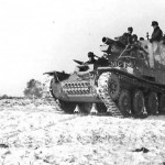 Grille Ausf. M German self propelled artillery