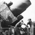 Heavy mortar Karl Gerat VI Ziu Warsaw Uprising 1944 barrel