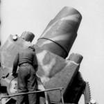 Heavy mortar Karl Gerat VI Ziu Warsaw Uprising 1944 barrel 2