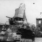 Schwere Morser Karl Gerat VI Ziu and Munitionsschlepper Panzer IV