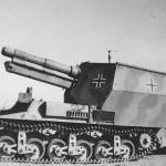 15 cm schwere Feldhaubitze 13/1 auf Geschutzwagen Lorraine Schlepper 37L (f)