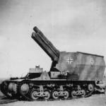 captured german self propelled gun on Fahrgestell Lorraine 37L