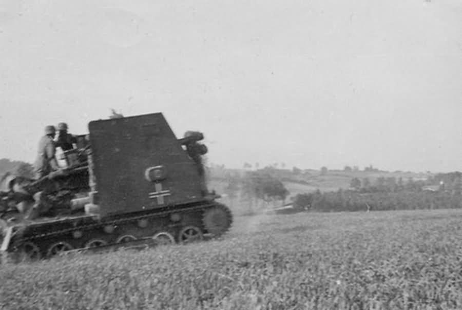 15 cm sIG 33 Bison German artillery world war 2