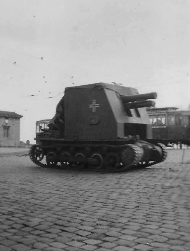 15 cm sIG 33 auf Fahrgestell Panzerkampfwagen I sf