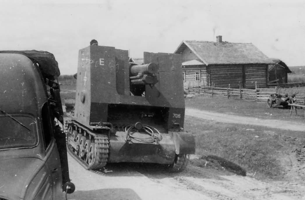 """15 cm sIG 33 (Sf) auf Panzerkampfwagen I Ausf B Bison 706 sIG Kompanie """"E"""""""