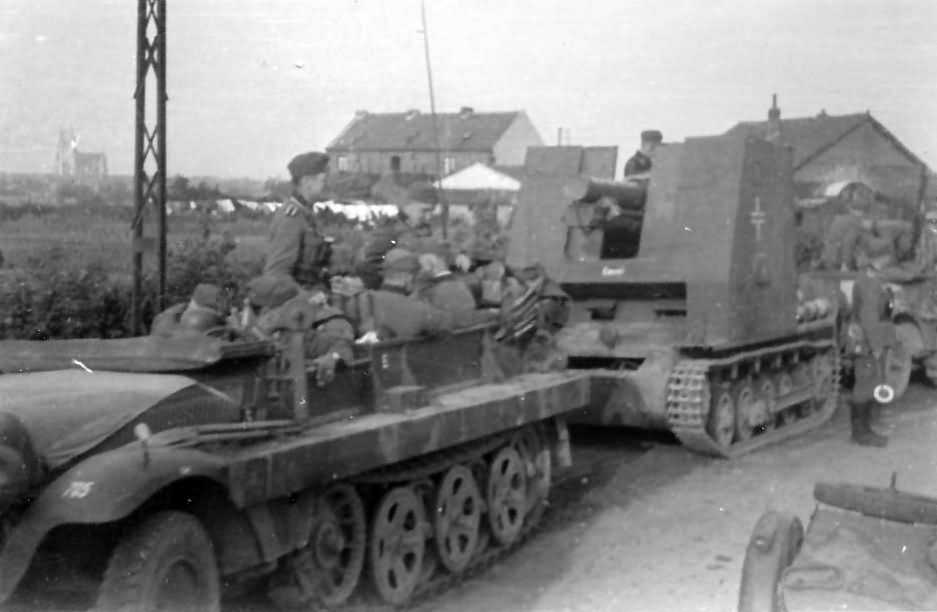 Bison and SdKfz 10