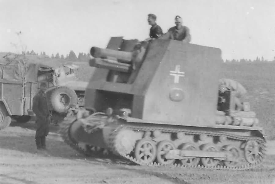 Bison sIG 33 15cm France 1940