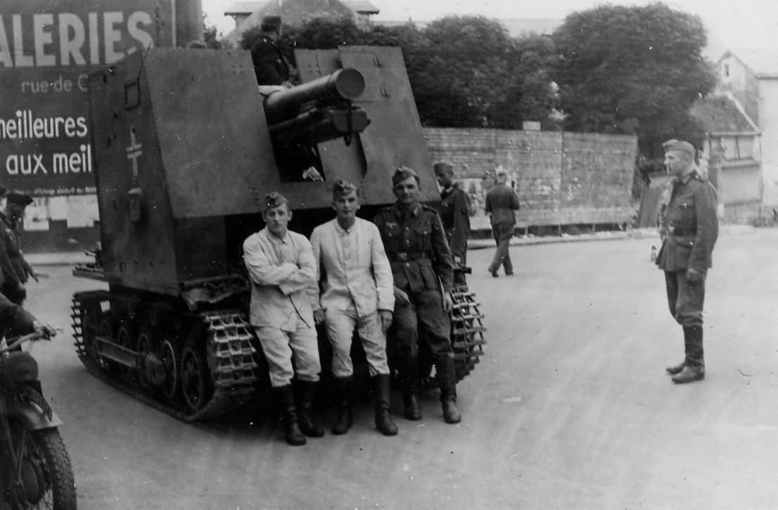 SPG sIG 33 Bison France 1940