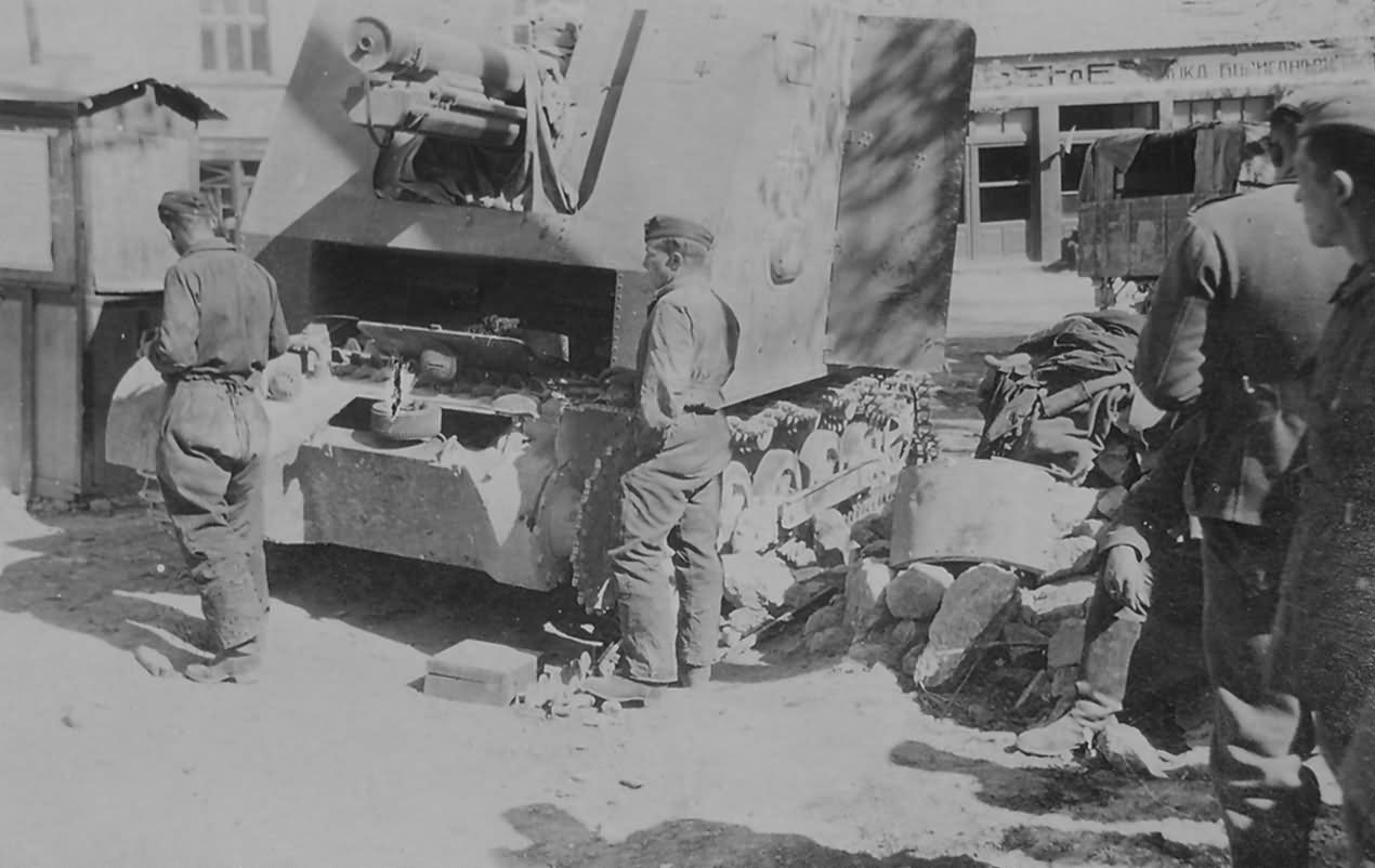 Sturmpanzer Bison I