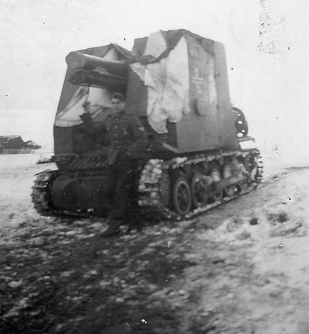 Sturmpanzer I Bison 15 cm sIG 33 (Sf) auf Panzerkampfwagen I Ausf B