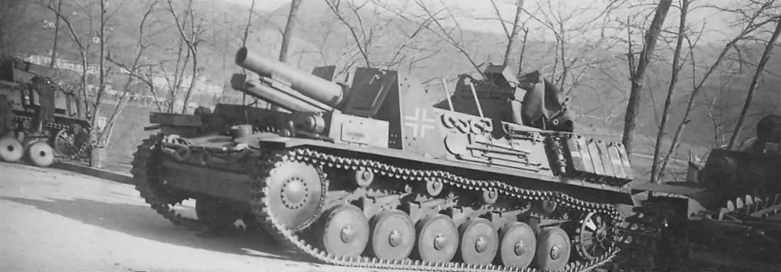Sturmpanzer II Bison 15 cm sIG 33 schweres Infanteriegeschutz