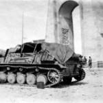 Sturmpanzer II Bison in North Africa