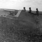 German 10,5 cm self propelled gun Wespe