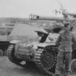 German self propelled artillery Wespe